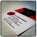 FID business cards front and back.